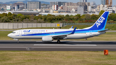 A picture of JA84AN - Boeing 737881 - All Nippon Airways - © Tsumugu Ono