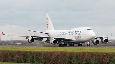 B-KAF - Boeing 747-412(BCF) - Dragonair Cargo