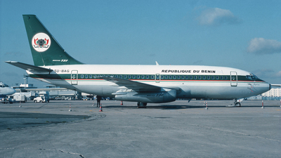 5U-BAG - Boeing 737-2N9C(Adv)  - Benin - Government