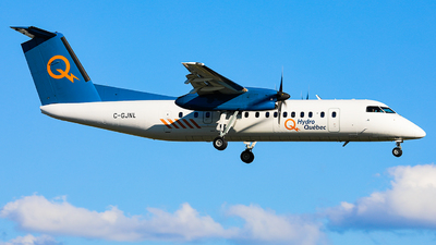 C-GJNL - Bombardier Dash 8-311 - Hydro-Québec