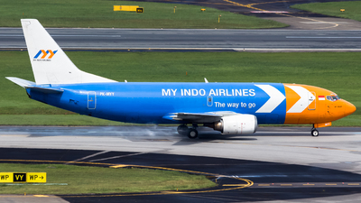 PK-MYY - Boeing 737-347(SF) - My Indo Airlines