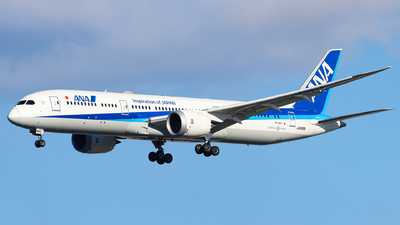 JA895A - Boeing 787-9 Dreamliner - All Nippon Airways (Air Japan)
