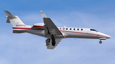 N424TG - Bombardier Learjet 45 - Private