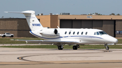 N116MB - Cessna 650 Citation VII - Private