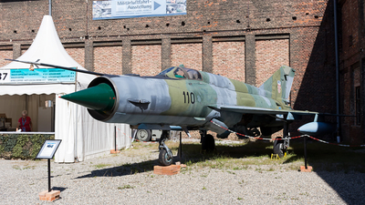 110 - Mikoyan-Gurevich MiG-21bis Fishbed L - Croatia - Air Force