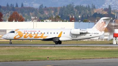 C-GKEW - Bombardier CRJ-200LR - Air Canada Jazz