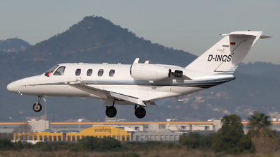 D-INCS - Cessna 525 CitationJet 1 - Private