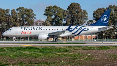 LV-FPS - Embraer 190-100IGW - Austral L�neas A�reas