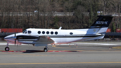 N379PK - Beechcraft 200 Super King Air - Private