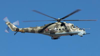N120NX - Mil Mi-24D Hind D - Private
