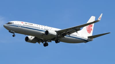 A picture of B1947 - Boeing 73789L - Air China - © Jerry.H