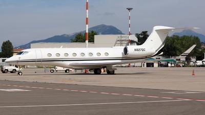 N827DC - Gulfstream G650ER - Private
