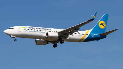 A picture of URPSP - Boeing 7378Q8 - Ukraine Int. Airlines - © Oleksandr Smerychansky