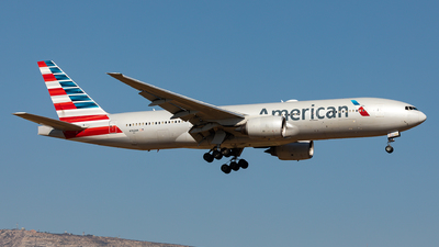 A picture of N762AN - Boeing 777223(ER) - American Airlines - © Sebastian Sowa