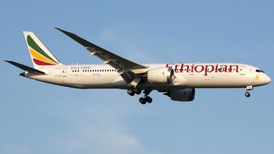 ET-AUO - Boeing 787-9 Dreamliner - Ethiopian Airlines