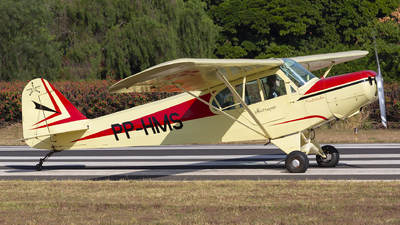 PP-HMS - Neiva P-56C Paulistinha - Aero Club - Itápolis