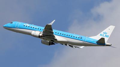 A picture of PHEZN - Embraer E190STD - KLM - © Nigel Fenwick