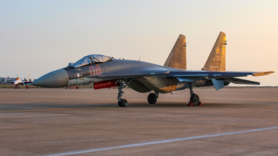RF-93648 - Sukhoi Su-35S - Russia - Air Force