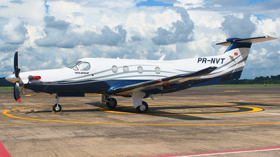 A picture of PRNVT - Pilatus PC12/47E - [1697] - © Rogério A. Avelino