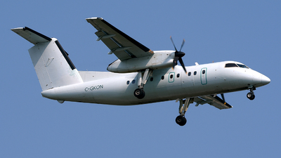 A picture of CGKON - De Havilland Canada Dash 8100 - Voyageur Airways - ©  JC