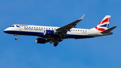 A picture of GLCYX - Embraer E190SR - British Airways - © Simi