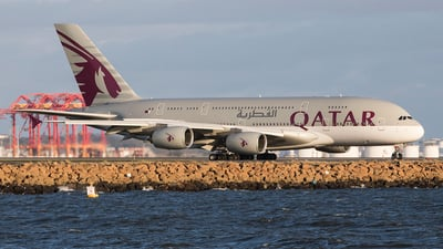 A7-APJ - Airbus A380-861 - Qatar Airways