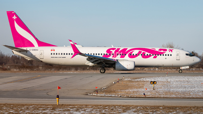 C-GNDG - Boeing 737-8CT - Swoop