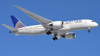 N28912 - Boeing 787-8 Dreamliner - United Airlines