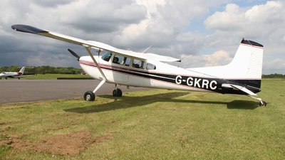 G-GKRC - Cessna 180K Skywagon - Private