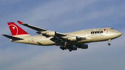 N668US - Boeing 747-451 - Northwest Airlines