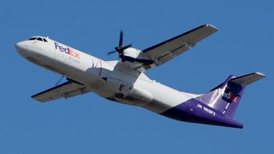 A picture of N810FX - ATR 72202(F) - FedEx - © Charles Rose