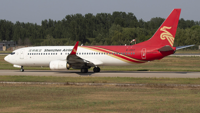 A picture of B1937 - Boeing 73787L - Shenzhen Airlines - © SEN BAI