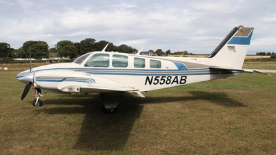 N558AB - Beechcraft 58TC Baron - Private