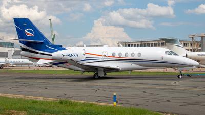 F-HATV - Cessna Citation Latitude - Private