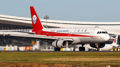 A picture of B6771 - Airbus A320232 - Sichuan Airlines - © Aaron_ZSAM