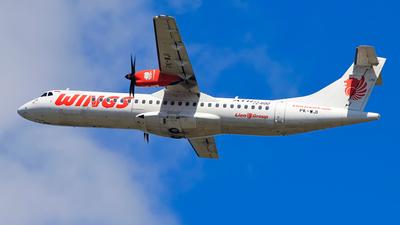 PK-WJI - ATR 72-212A(600) - Wings Air