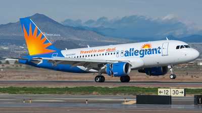 N303NV - Airbus A319-112 - Allegiant Air