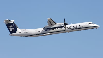 N444QX - Bombardier Dash 8-Q402 - Alaska Airlines (Horizon Air)