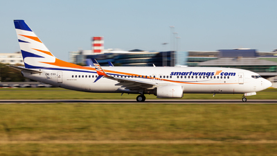 A picture of OKTVV - Boeing 73786N - Smartwings - © SlowhanD