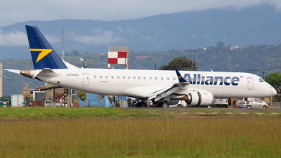 N974QQ - Embraer 190-100IGW - Alliance Airlines