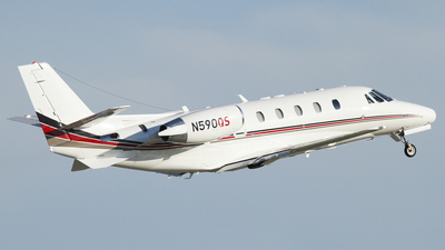 A picture of N590QS - Cessna 560XLS Citation Excel - NetJets - © Connor Cummings