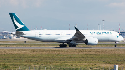 B-LRO - Airbus A350-941 - Cathay Pacific Airways