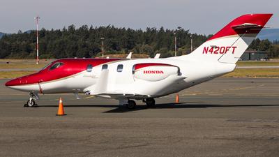 A picture of N420FT - Honda HA420 HondaJet - [42000183] - © Grant Gladych