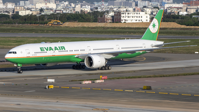 A picture of B16723 - Boeing 77736N(ER) - EVA Air - © Chao Aviation