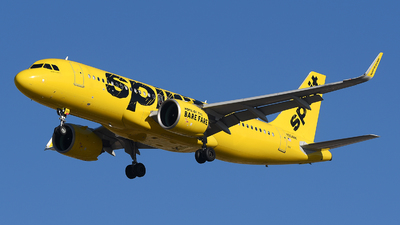 A picture of N904NK - Airbus A320271N - Spirit Airlines - ©  JC