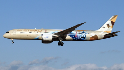 A picture of A6BLE - Boeing 7879 Dreamliner - Etihad Airways - © NRT Spotter