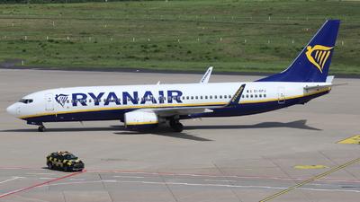 A picture of EIDPJ - Boeing 7378AS - Ryanair - © Holger Eultgen