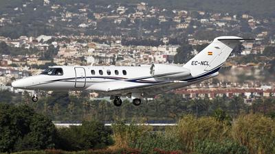 A picture of ECNCL - Cessna 525C CitationJet CJ4 - [525C0176] - © Manuel Llama - Benalmadena Spotters