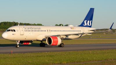 A picture of SEROE - Airbus A320251N - SAS - © Adam Lanzen