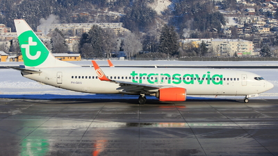 PH-GUU - Boeing 737-8EH - Transavia Airlines
